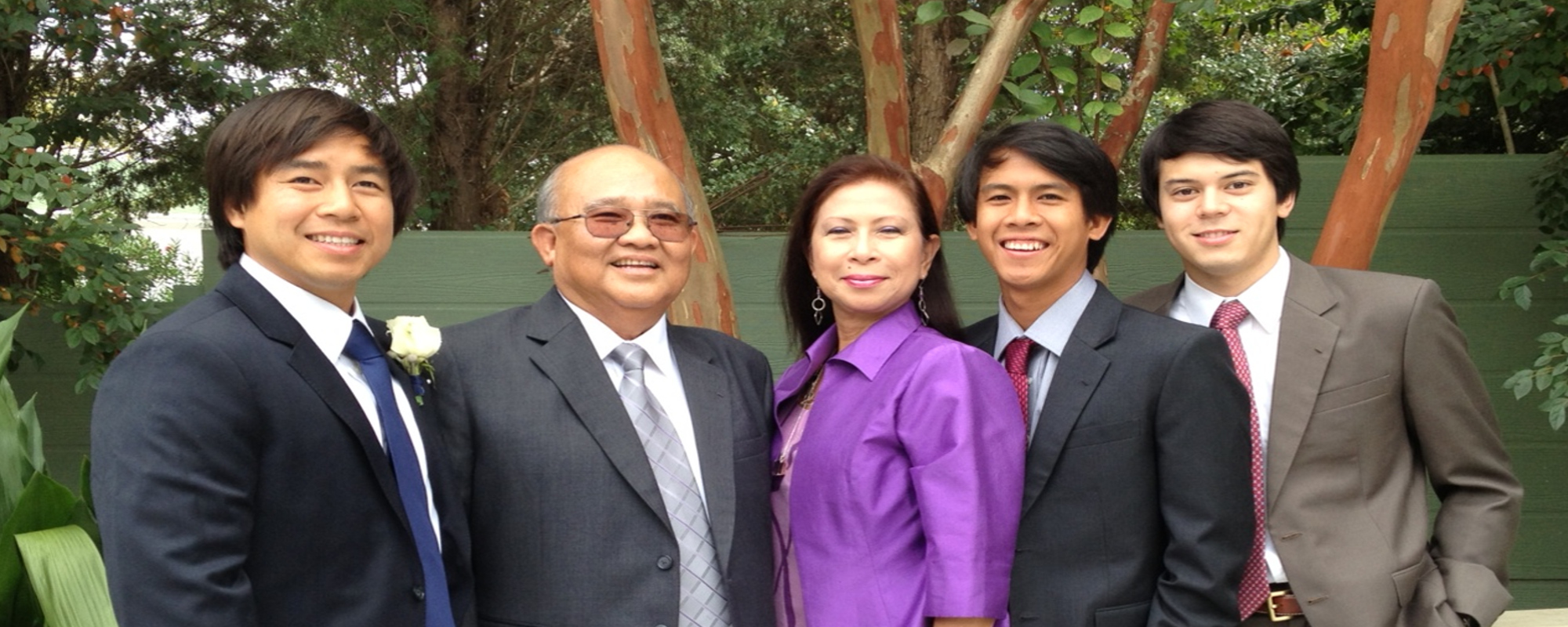 Dr. Intaphan and Family